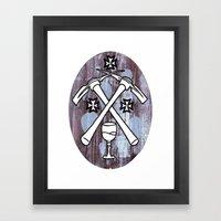 PIck Your Axe Framed Art Print