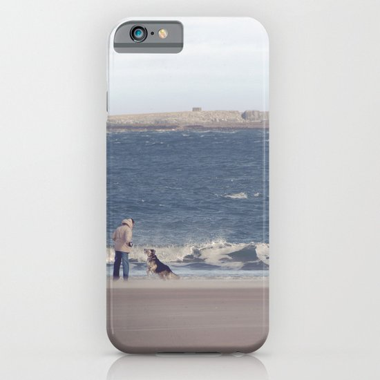 fishing with dogs... iPhone & iPod Case