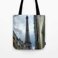 paris, je t'aime Tote Bag