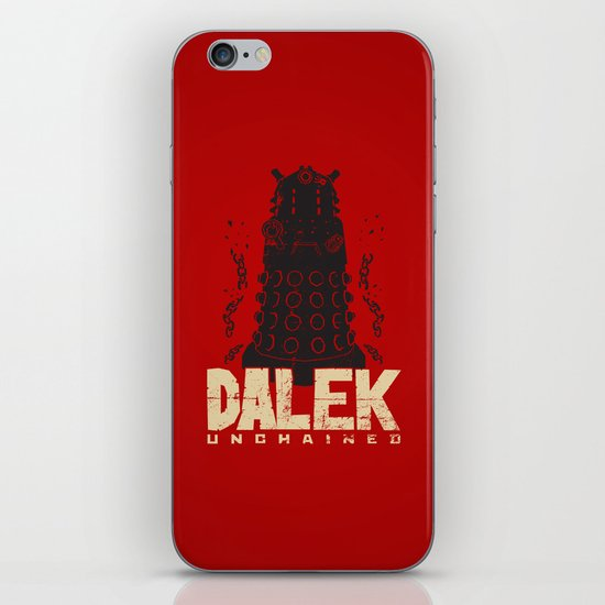 Dalek Unchained iPhone & iPod Skin