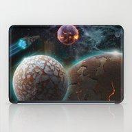 Deep Space Flare iPad Case