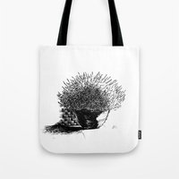 Flower Pot Tote Bag