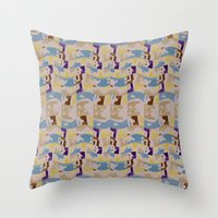 These City Colors Throw Pillow