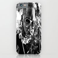 iPhone & iPod Case featuring Street Phenomenon Rick Ross  by D77 The DigArtisT