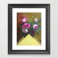 Flower Still Life #1 Framed Art Print