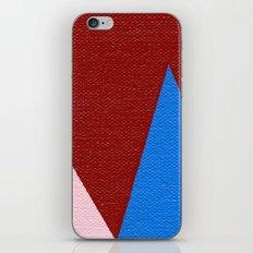Blue Triangle iPhone & iPod Skin