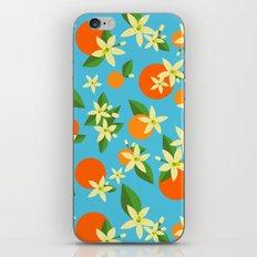 Orange Blossom Daydreams iPhone & iPod Skin