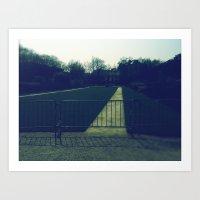 Le Fence Art Print