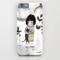 iPhone & iPod Case featuring Cat and me by Paola Zakimi