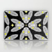 Sphynx Cat Black Pattern Laptop & iPad Skin