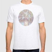 Endless Summer Mens Fitted Tee Ash Grey SMALL