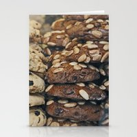 Almond Cookies - Food Kitchen Photography Stationery Cards