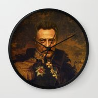 Wall Clock featuring Christopher Walken - Rep… by Replaceface