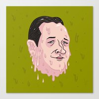 Ted Crooze Canvas Print