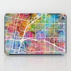 Albuquerque New Mexico City Street Map iPad Case