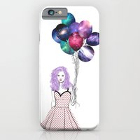 Space balloons iPhone 6 Slim Case