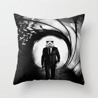 Sky Wars Throw Pillow
