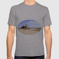 dust in the wind Mens Fitted Tee Athletic Grey SMALL