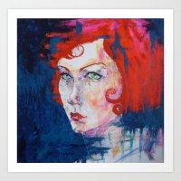Prodigal- Red For Print Art Print