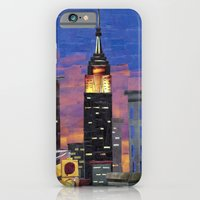 iPhone & iPod Case featuring New York New York by GiGi Garcia Collages