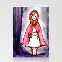 Little Red Ridding Hood Stationery Cards