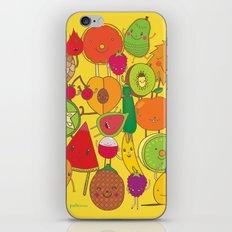 Veggies Fruits iPhone & iPod Skin