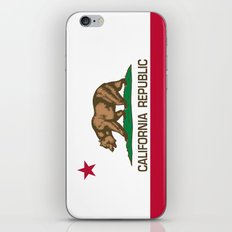 California Flag - High Q… iPhone & iPod Skin