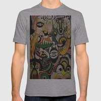 jungle boogie Mens Fitted Tee Athletic Grey SMALL