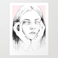 broke+low Art Print