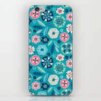 Flower Pop iPhone & iPod Skin