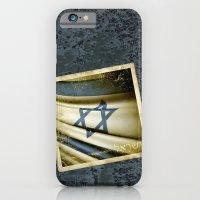 Israel Grunge Sticker Fl… iPhone 6 Slim Case