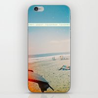 Worry About Tomorrow Tom… iPhone & iPod Skin