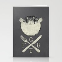 Eat Me And/or Die! Stationery Cards
