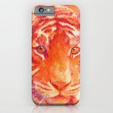 Magenta tiger iPhone 6s Slim Case