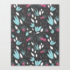 Nighttime Dandelions Canvas Print