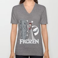 Carbon Frozen Unisex V-Neck