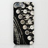 Underwood  Typewriter  iPhone 6 Slim Case