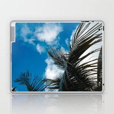 Sky behind the trees Laptop & iPad Skin