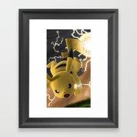 Electro Ball! Framed Art Print