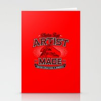 Artist Made Stationery Cards