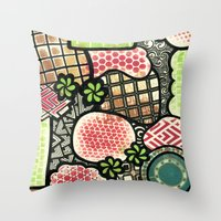 Fevered imaginings Throw Pillow