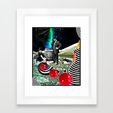 Found Footage, Apollo 18 Framed Art Print
