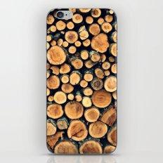 Pattern WOODS iPhone & iPod Skin
