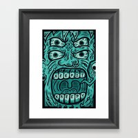 KEEP IT KREEPY Framed Art Print