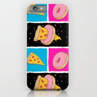 Pizza & Donut iPhone 6 Slim Case