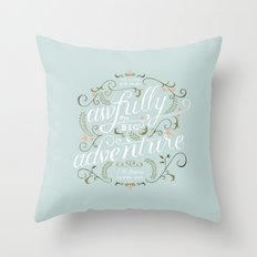 Big Adventure Throw Pillow