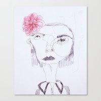 Cameo #8 Canvas Print