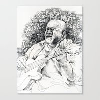 John Martyn Canvas Print