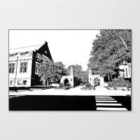 Bloomington III Canvas Print