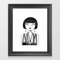 Star Of The Silver Scree… Framed Art Print